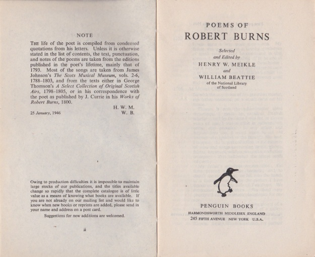 Burns Penguin 1946 2