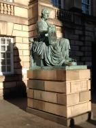 Hume's statue