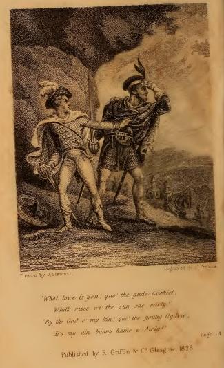 Jacobite Minstrelsy 1829 frontispiece
