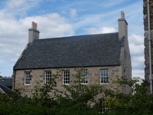 Canongate Panmure House from Dunbar's Close garden 2