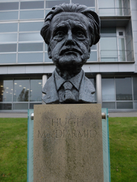 Hugh MacDiarmid by Anthony Morrow