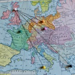 Edina Europa map light