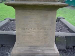 duncan ban mcintyre memorial greyfriars 2